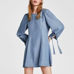 Zara | Premium Denim Collection Dress